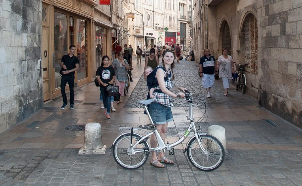 La vieille ville de La Rochelle a un charme remarquable
