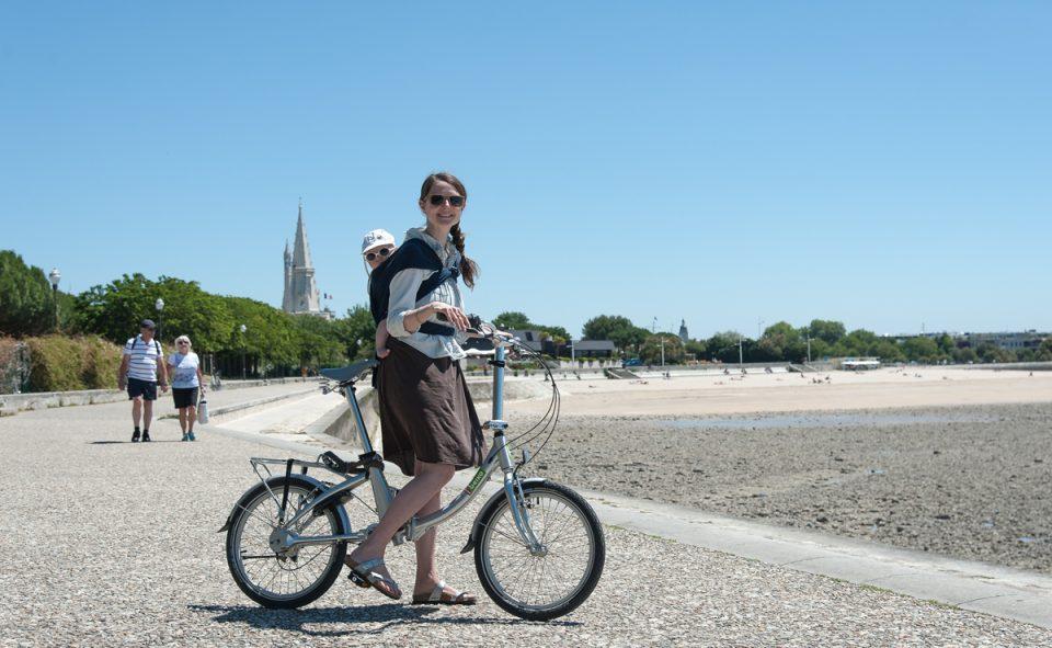 Accessible par une longue piste cyclable, on a préféré se garer à l'extérieur du centre-ville