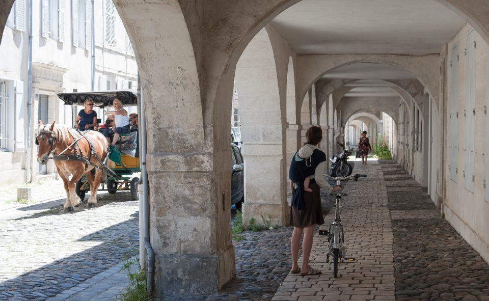 Les arcades de La Rochelle, c'est un incontournable