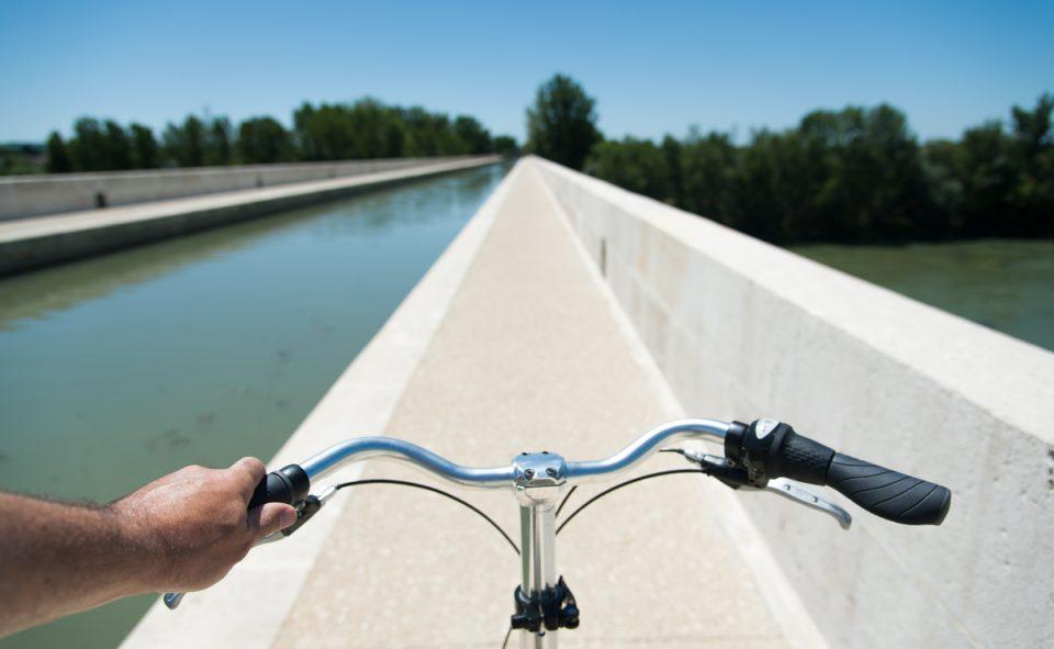 Balade à vélo sur les canaux de la Garonne