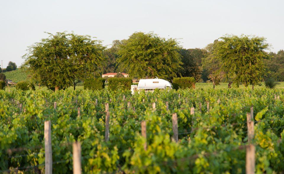 Dormir chez le producteur de vin Gtrand Cru à St-Émilion