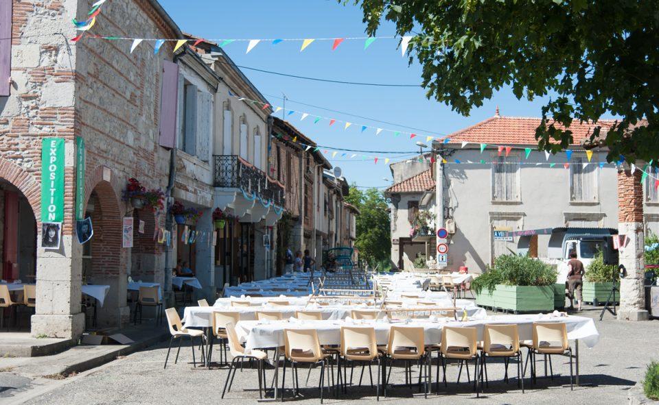 Tomber par hasard sur une fête de village à Sérignac sur Garonne